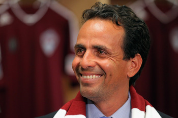 New Colorado Rapids Óscar Pareja looks to retool his club in 2012.