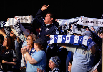 Sporting Kansas City fans at the 2012 MLS SuperDraft.