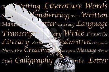 8855459-a-white-feather-quill-pen-and-crystal-glass-ink-well-on-a-black-background-with-words-associated-wit_display_image