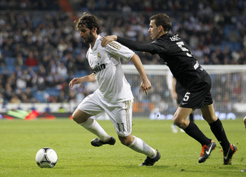 Madrid's Esteban Granero may be available.