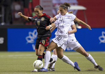2012 CONCACAF Women's Olympic Qualifying - United States v Mexico