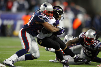 Jerod Mayo has become a top-tier linebacker in this league.