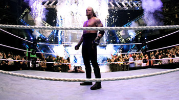 The Undertaker wins the 2007 Royal Rumble.