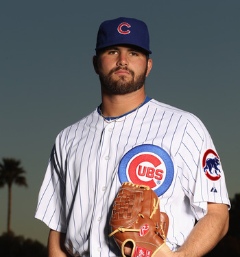 Trey McNutt is one of the better pitchers in the Cubs minor league system.