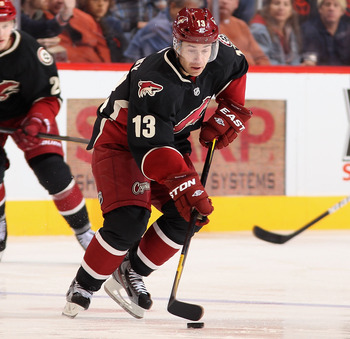Phoenix Coyotes' forward Ray Whitney- is he an option?