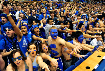 The craziest fans in all college basketball? Hardly.