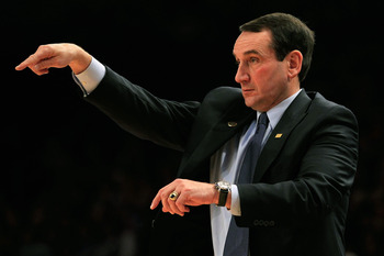 Coach K has conducted unethical recruiting practices, Tucker suggests.