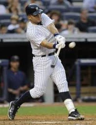 Pictured as a Yankee
