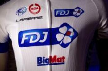 The classic french white and blue returns to the ProTour in 2012