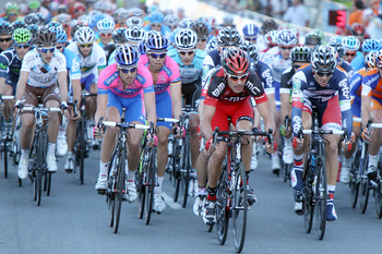 Get used to this sight, BMC leading the peloton in 2012