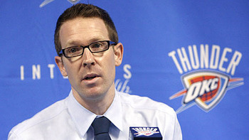 Oklahoma City GM Sam Presti