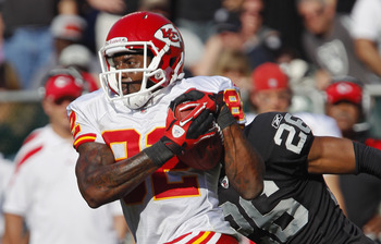 Dwayne Bowe is one of the top receivers in the NFL
