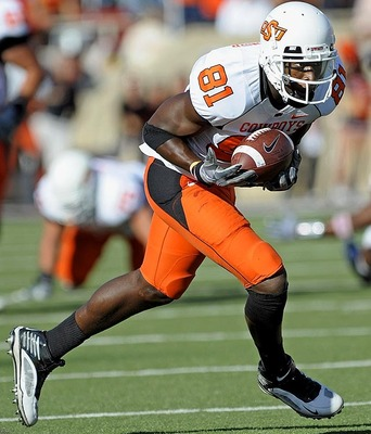 Oklahoma St. Wide Receiver Justin Blackmon