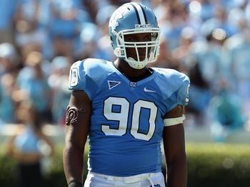 North Carolina Defensive End Quinton Coples