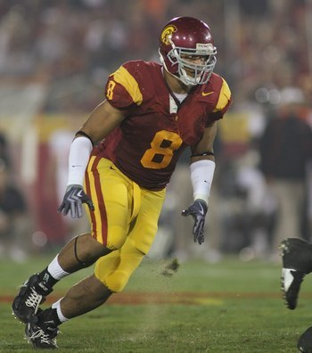 USC Defensive End Nick Perry