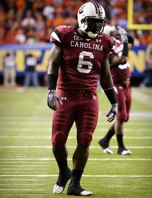 South Carolina Defensive End Melvin Ingram