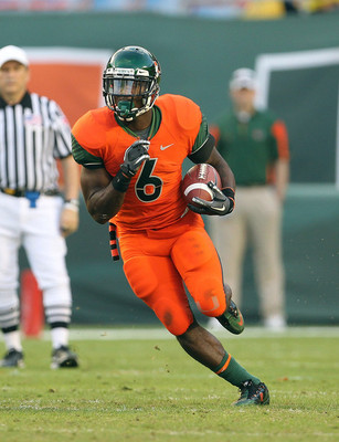 Miami Running Back Lamar Miller