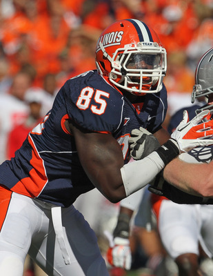 Illinois Defensive End Whitney Merciless