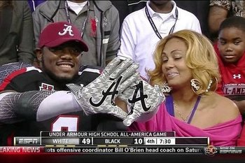 Much to his mom's dismay, Collins decides to Roll with the Tide