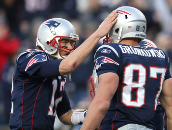 Gronkowski has become Brady's no. 1 option for touchdowns