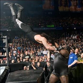 Image result for the undertaker vs mark henry wrestlemania 22