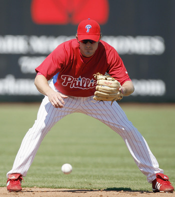 It should be nice to see Utley on his feet and not a stool this Spring