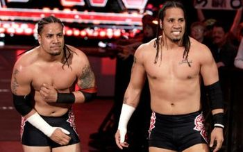 The Usos on RAW