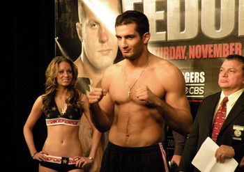 Gegard Mousasi; photo cred: MMAMania.com