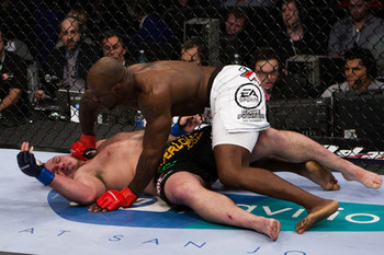 Muhammed Lawal (top); photo cred: MMAJunkie.com