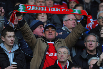 Swindon Town fans still believe