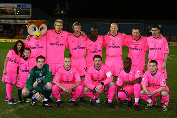 Oldham Athletic...pretty in pink?