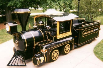Choo-choo! All aboard the Boilermaker Special!