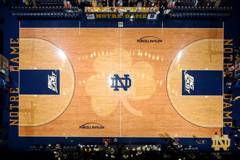 Oregon and college basketball 39 s 13 most unique gym floors for How much to build a half court basketball court