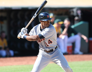 Austin Jackson will be counted on to be a productive leadoff hitter for the Tigers in 2012.
