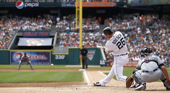 A healthy Brennan Boesch will bode well for the Tigers' run production in 2012.