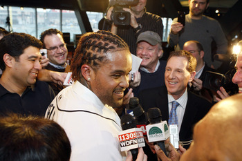 Prince Fielder is all smiles after inking a nine-year, $214 million contract.