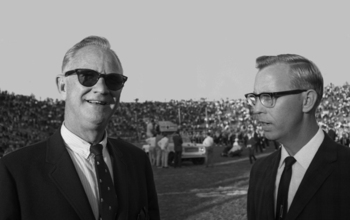 Photo Source: http://gtalumnimag.com/wp-content/uploads/2011/02/Coach-Dodd-Gator-Bowl-1966.jpg