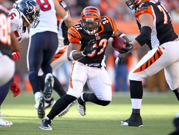 Who will carry the ball for the Bengals in 2012?