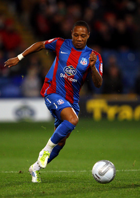 LONDON, ENGLAND - OCTOBER 25:  Nathaniel Clyne of Crystal Palace in action during the Carling Cup Fourth Round match between Crystal Palace and Southampton at Selhurst Park on October 25, 2011 in London, England.  (Photo by Warren Little/Getty Images)