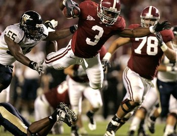 Alabama dove into the BCS as a BCS buster last year