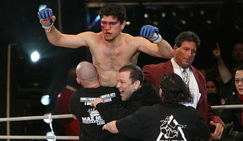 Nick Diaz; photo cred: Sherdog.com
