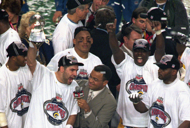 St Louis Rams Super Bowl How 1999 Could Repeat In 2012