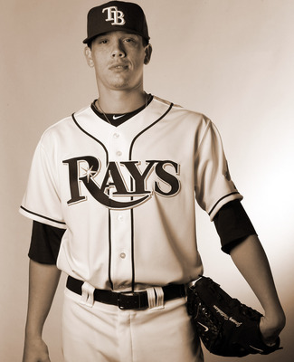 Hellickson during the Rays 2011 Photo Day.