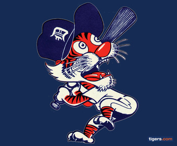 1978 Detroit Tigers Logo