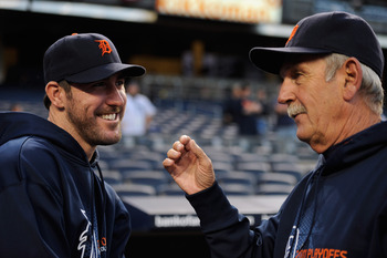 Jim Leyland (right) and Justin Verlander are two of the most marketable Tigers in franchise history.