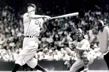 Hammerin' Hank Greenberg was a prolific hitter for the Detroit Tigers.