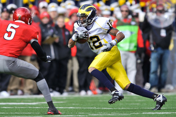 Roy Roundtree may be Denard Robinson's best option through the air next season