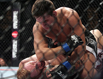 Demian Maia (top); photo cred: MMAWeekly.com