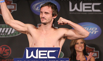 Brad Pickett; photo cred: MMAWeekly.com