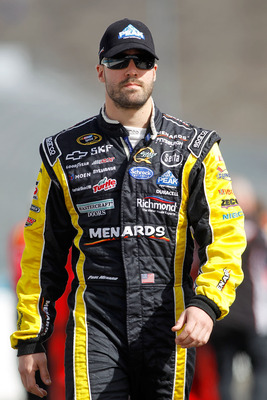 Paul Menard, driver of the #27 Menards Chevrolet for Richard Childress Racing